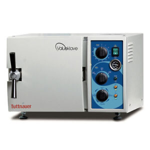 Tuttnauer 1730 Valueklave Autoclave Veterinary Sterilizer 2 year Warranty
