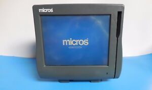 Micros Workstation 4 Pos Terminal With Stand