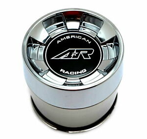 American Racing Chrome Wheel Center Hub Cap 5lug Ar910 Ar901 Ar969 Ansen Offroad