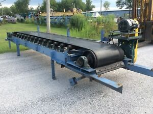 30 Belt Feeder Conveyor Belt Coal Sand Gravel Conveyor System W Dodge Txt6