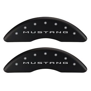 2015 2017 Ford Mustang Ecoboost Perf Front Rear Mat Mgp Brake Caliper Cover Pony