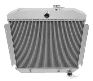 4 Row Racing Champion Radiator For 1955 1956 Chevy Bel Air