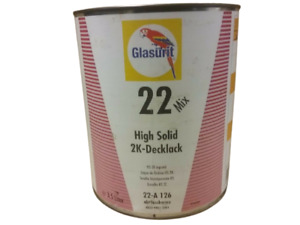 Glasurit 22 Line 22 a126 3 5 Litre Hs Solid Colour Tinter Basf