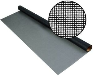 Fiberglass Screen Charcoal Mesh Roll 100 X Wire Insect Heavy Duty Saint New