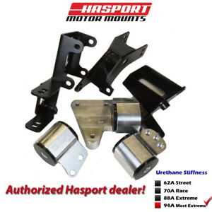 Hasport Eg dc Dual Height K series Mount Kit 92 01 For Civic Integra Egk4 94a