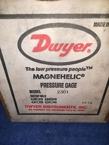 Dwyer 2301 Magnehelic Gauge 5 To 5 Inches Of Water