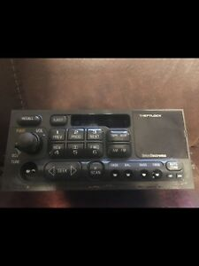 Used1995 2002 Gm Gmc Sierra Chevy Tahoe Silverado Tape Cassette Radio Cd Control
