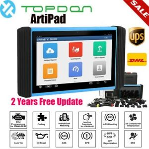 Topdon Artipad I Automotive Obd Diagnostic Tool Ecu Programming Scanner Tablet