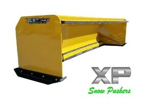 10 Snow Pusher Boxes With Pullback Bar Skid Steer Bobcat Local Pick Up Only