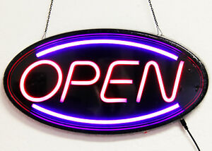Neon Led Light Animated Motion With On off Open Business Sign Super Bright Ln201