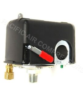 Square D Air Compressor Regulator Pressure Switch W On off Lever 95 125 Psi