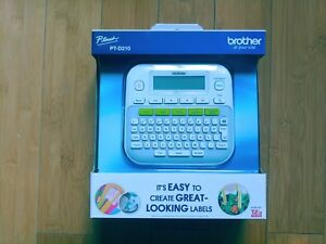 Brother P touch Pt d210 Label Maker msrp 39 99 New
