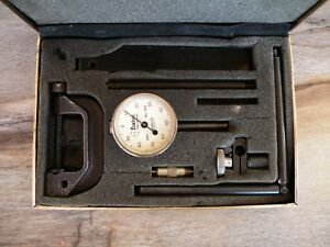 Vintage The Central Tool Co Dial Test Indicator Machinist Tool