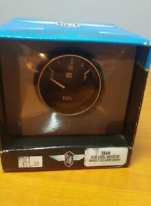 Vintage Stewart Warner Fuel Level Indicator Gauge 284m nos