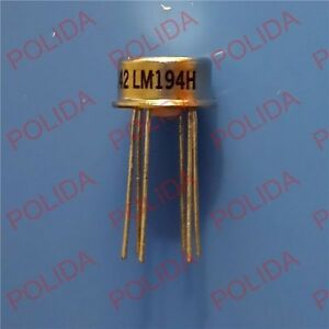 1pcs Mil Spec Supermatch Pair Precision Transistors Ic Nsc To 99 can 6 Lm194h