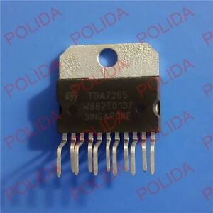 1pcs Stereo Amplifier Ic St Zip 11 Tda7265