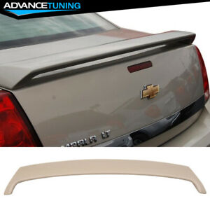 Fits 06 13 Chevrolet Chevy Impala Oe Factory Style Gray Trunk Spoiler Abs Wing