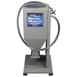 Skat Blast Cabinet Stand Alone Soda Master Attachment Sm 60