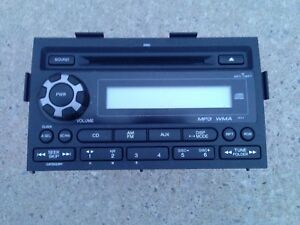 09 14 Ridgeline Stereo Receiver Am Fm Radio 6 Disc Cd Player