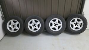 Used Oem Mercedes benz 16 Set Of 4 Wheels Tires Rims Ml320 Ml430 W163 5x112