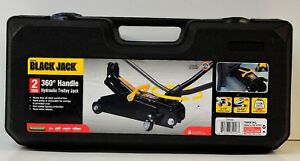 torin Black Jack 2 Ton 360 degree Handle Hydraulic Trolley Jack T82016w