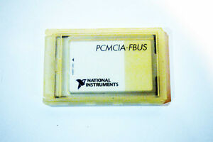 National Instruments Ni Pcmcia fbus Fieldbus Interface For Pcmcia 183628b 01