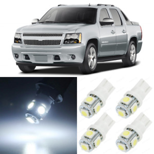 19 X Xenon White Interior Led Lights Package For 2007 2013 Chevy Avalanche Tool