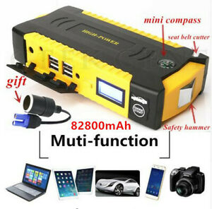 High Capacity 82800mah Power Bank Battery Charger Emergency Car Jump Starter