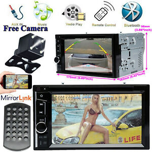 For Jeep Wrangler Compass Patriot Car Cd Dvd Radio Bluetooth Stereo Rear Camera