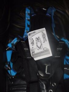 Honeywell Fall Protection Blue Adjustable Tux Vest Safety Harness Large