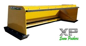 6 Low Pro Pullback Snow Pusher Local Pick Up Skidsteer Bobcat Case Caterpillar