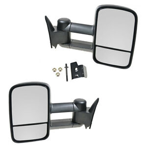 Fit For 1988 1998 Chevy Gmc Towing Manual Side View Mirrors Left