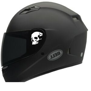 Skull Helmet Decals 2 Motorcycle Helmet Decals Sticker Honda Harley Rzr