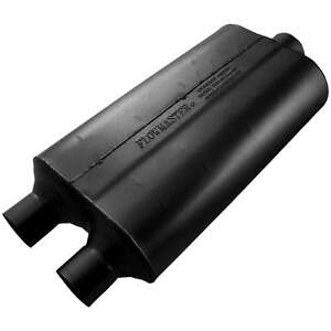 Flowmaster Universal Super 50 Muffler 2 25 Dual In 3 00 Center Out
