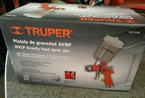 Pipi 322g Hvlp Gravity Feed Spray Gun Truper Industrial And Professional Use