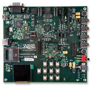 Evaluation Module Tms320c55x Dsp s Oled Colour Lcd Display On Board Embedded