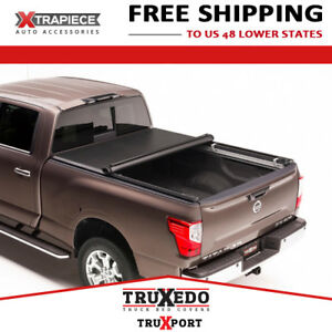 Truxedo Truxport Rollup Cover Fit 04 15 Nissan Titan 5 5 Bed W Railsystem