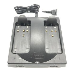 Gkl122 Dual Port Charger For Leica Geosystems Geb111 Or Geb121 Gps Battery