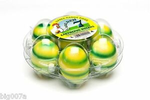 50 Clear Plastic Round Starpack Egg Cartons Holds 7 Eggs Great For Easter Eggs