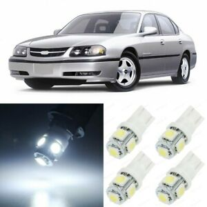 14 X White Map Dome Interior Led Lights Package For 2000 2005 Chevy Impala Tool