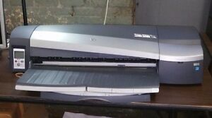 Hp Designjet 130 Model C7791h Large Format Printer With Extra Ink