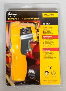 Fluke 62 Max Infared Thermometer Ip54 4130474 New In Package