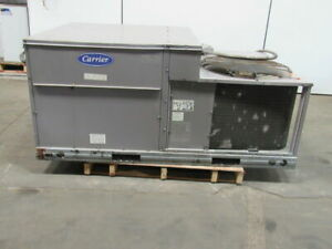 Carrier 48tje006 301ga 5 Ton Rooftop Unit Electric Cooling natural Gas Heating