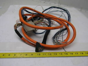 Indramat Iks0186 03 0m Awm Style 20233 60 Wire Servo Feed Back Cable W end 3m