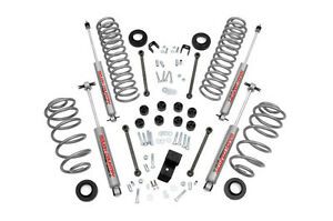 Rough Country 3 25in Jeep Suspension Lift Kit 03 06 Tj lj Wrangler W shocks 6cyl