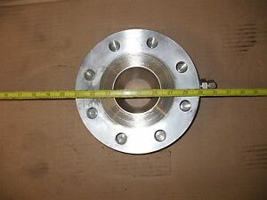 316 Stainless Steel 2 In Thick 2 In I d Flange