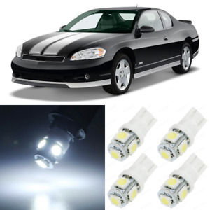 11 X White Interior Led Lights Package For 2000 2007 Chevy Monte Carlo Tool