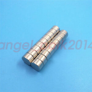 Dia 12mm Thick 7mm Strong Round Disc Magnets Rare Earth Neodymium Magnet N50