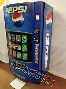 Vendo 511 Soda Machine 10 Selections Can bottle Pepsi Hvv