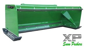 7 Low Pro Pullback John Deere Quick Attach Snow Pusher Box Local Pick Up rtr